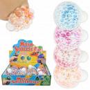 Squishy Mesh Squeeze Balls Glitter Star Display