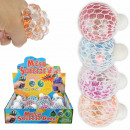 wholesale Toys: Squishy Mesh Squeeze Balls LED Glitter Stars