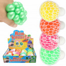 wholesale Toys: Squishy Mesh Squeeze Balls Pearlescent Metallic