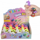 Squishy Mesh Squeeze Balls 12er Display Alpaka