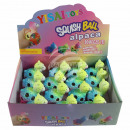 Squishy Mesh Squeeze Balls Display Alpaca, Alpaka