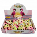 Squishy Mesh Squeeze Balls Display Flamingo
