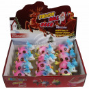 Squishy Mesh Squeeze Balls Display reindeer