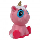 Squishy Squishies unicorn pink gold white ca. 16 c