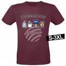 Motiv T-Shirt Shirt Wohlstand 2020 Weinrot