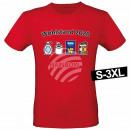 Motiv T-Shirt Shirt Wohlstand 2020 Rot