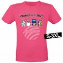 Motiv T-Shirt Shirt Wohlstand 2020 Pink