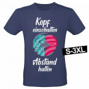 Großhandel Shirts & Tops: Motiv T-Shirt Shirt Kopf einschalten Abstand