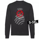Motiv Sweater Sweatshirt 'Sorry No Handshake'