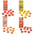 Chupa Chups tealights in 4 different varieties