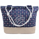 Shopper Shopping Bag Beach Bag blue Maritim