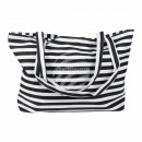 wholesale Business Equipment: Carrying case  white black stripe pattern approx. 4