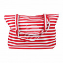 Carrying case white red stripe pattern approx. 48