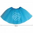 Großhandel Röcke: Tutu Petticoat Unterrock hellblau ca. 46 cm
