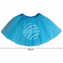 Tutu Petticoat Unterrock hellblau ca. 46 cm