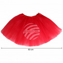 Großhandel Röcke: Tutu Petticoat Unterrock rot ca. 60 cm
