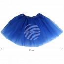 grossiste Jupes: Jupon tutu jupon bleu foncé bleu environ 60 cm