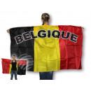 Flaggenumhang Umhängefahne Flaggen Belgien