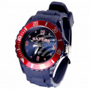 Bavaria city clocks silicone watches