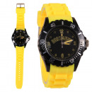 Dortmund, black, yellow cities Watches Silicone Wa
