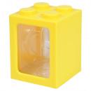 groothandel Sierraadkisten: Geschenk lege doos voor horloges geel