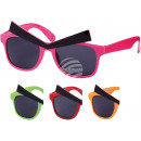 Fun Party glasses evil look colors assortment