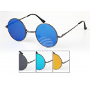 Ladies and Gentlemen sunglasses Retro Flat Glass