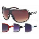Großhandel Sonnenbrillen: VIPER Damen  Sonnenbrille Retro Design Brille weiß