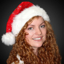 Santa hat red m. thick fur edge a. Velvet
