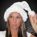 Karácsonyi kalap m. vastag szőrme trim bársony