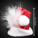 Very little Santa hat m. Bell & Barrette