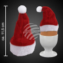 wholesale Headgear: Plush Christmas  hat as Eierwärmer, about 11.5cm