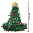Santa Hat Christmas Tree Tinsel Glitter