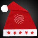 Kerstmuts van een pluche Kerstmis cap met 5 Leu