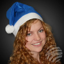 WM-31 Santa hats Santa hats bobble blue