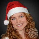 Christmas hats Santa Claus hats red with pompom 28