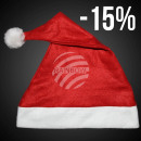Großhandel Fashion & Accessoires: Weihnachtsmützen  Nikolausmützen rot mit Bommel 288