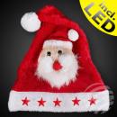 Kinderen kerstmuts m. Kerstman & Blink Stars