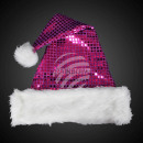 WM-49a Christmas hats Santa hats with purple sequi