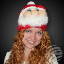 WM-87 plush Santa hat design - soft and cuddly