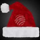 Luxury Santa hat red m. very thick fur edge