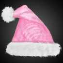 Luxury Santa Hat pink m. very thick fur edge