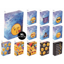 wholesale Food & Beverage: Cigarette cases made of cardboard XL Emoticon Emoj