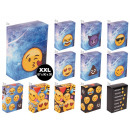 wholesale Smoking Accessories: Cigarette cases made of cardboard XXL Emoticon Emo