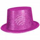 groothandel Kleding & Fashion:Top Hat glittery fuchsia