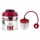 Boîte à thé et  infuseur - Coffret cadeau pour le t