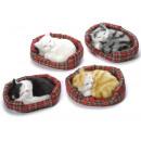 wholesale Pet supplies: Decorative fake fur cat kennel