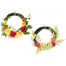 Wholesale garlands artificial flowers fabric