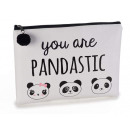 Wholesale panda beauty clutch bag