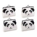 Großhandel Schulbedarf: Panda Kunstleder Münzhalter Großhändler